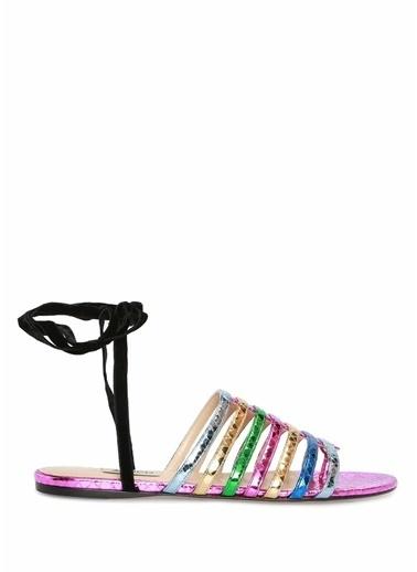 Attico Sandalet Renkli